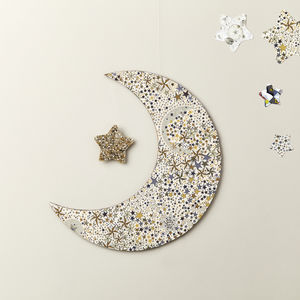 Adelajda Gold Liberty Moon Wall Hanging