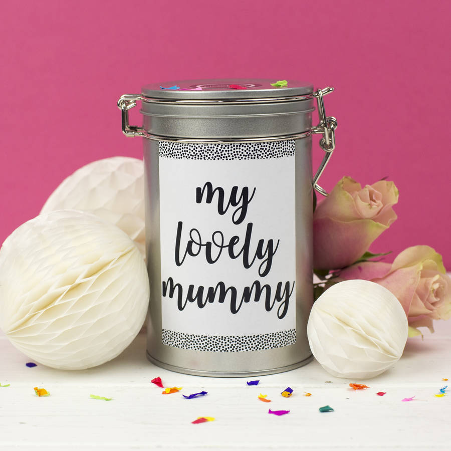Coffee Gift Tin For Mums
