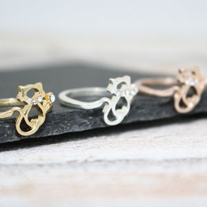Cat Ring - rings