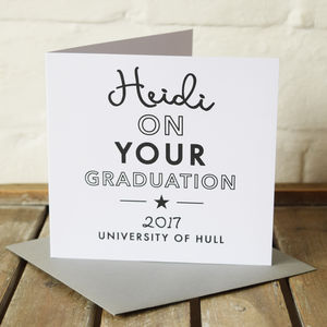 Graduation Congratulations Student Card