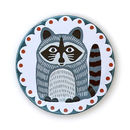 Rocky Raccoon Pocket Mirror