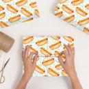 Personalised Hot Dog Wrapping Paper
