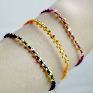 Khama Luxury Corded Friendship Bracelet