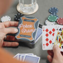Personalised Poker Cards Game Tin