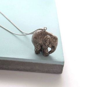 Baby Elephant Necklace - necklaces & pendants