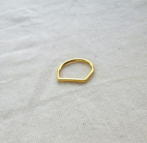 Horizon Ring - contemporary jewellery