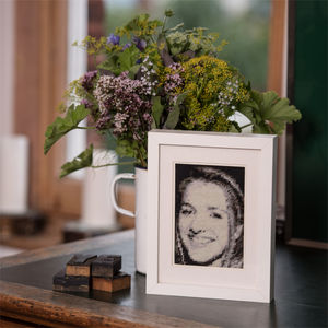 Personalised Tapestry Kit Of Your Loved Ones - photography & portraits