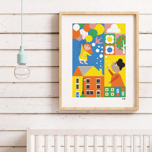 Up Up And Away Children's Print
