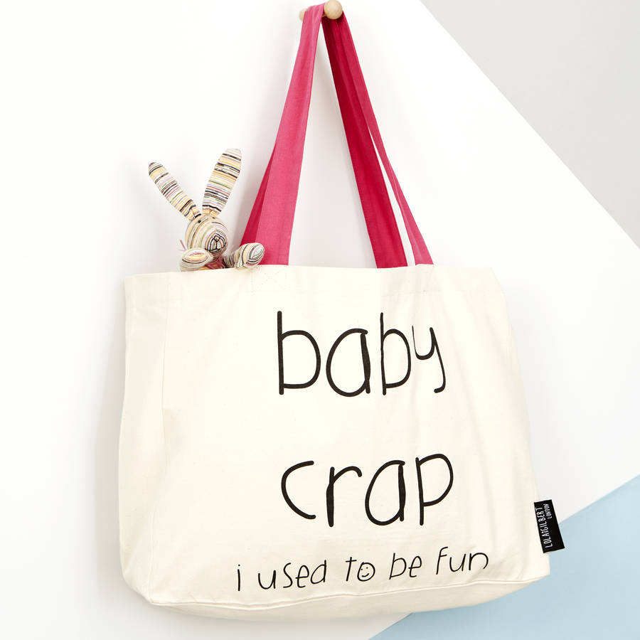 Baby I Used To Be Fun Tote Bag