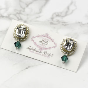 Bridal 'Charlotte' Earrings