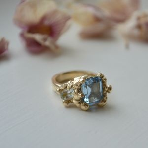 Blue Topaz And Aquamarine Ring - new in jewellery