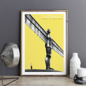 Angel Of The North Art Print - limited edition art
