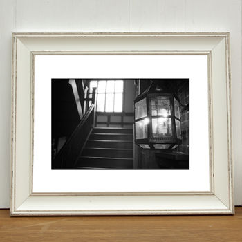 Staircase, Paycockes House Photographic Art Print