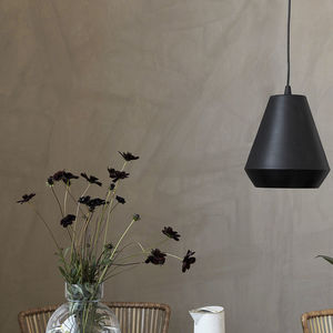 Hood Pendant Light Black - ceiling lights
