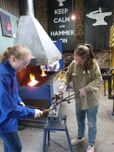 Become A Young Blacksmith - unusual activities