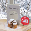 Christmas Cake In A Can Greeting Card