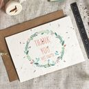 Plantable Teacher Thank You Card Personalised