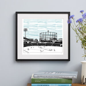 The Oval Cricket Ground Screen Print