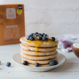 Gluten Free Gift Pack Two Mixes Pancakes And Flapjack