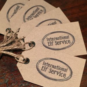 International Elf Service™ Gift Tags