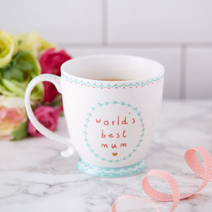Mothers Day Mug - mum loves happy hour
