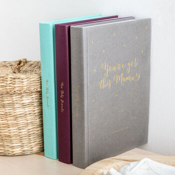 New Baby Journal: Baby Tracking Diary And New Mum Gift