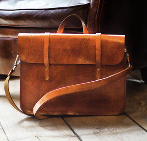 Jordan Leather Messenger - new in fashion