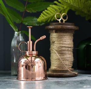 Copper Or Gold Plant Mister - on trend: copper