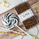Whiskey Alcoholic Lollipop And Chocolate Gift Set