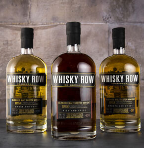Whisky Row, Blended Whisky Triple Gift Set Collection