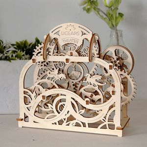 Mechanical Theatre Wooden Self Assembly Kit Ugears - gadget-lover