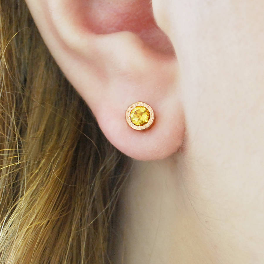 square jewellery citrine and diamond product sloane kiki gold mcdonough detail stud yellow with earrings london flower