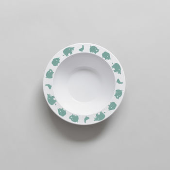 Farm Animal Bowl Green