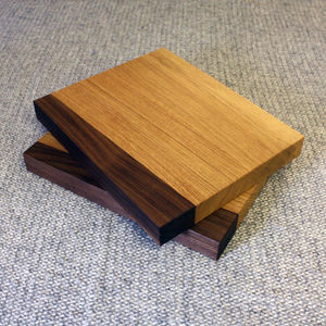 Oak & Walnut Chopping Board - cooking & food preparation