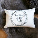 Personalised Hygge Name Cushion