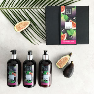The Fig And Cassis Bottle Gift Set - brand new sellers