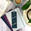 'So Many Books' Vintage Style Metal Bookmark