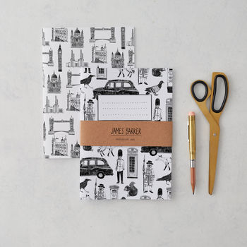 London Notebook Set Of Two
