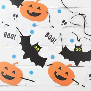 Halloween Spooky Party Bunting - party decorations