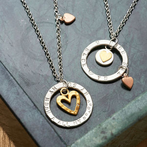 Personalised Eternal Love Necklace - gifts for mothers