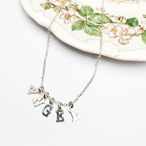Angel Name Necklace