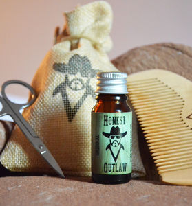 Beard Oil Grooming Kit