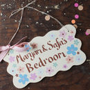 bedroom sign for kids