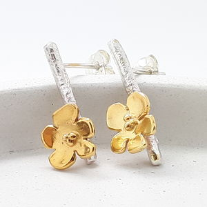 Cherry Blossom Branch Earrings