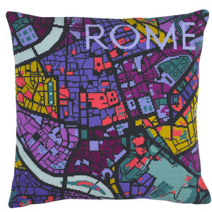 Contemporary Rome City Map Tapestry Kit - sewing & knitting