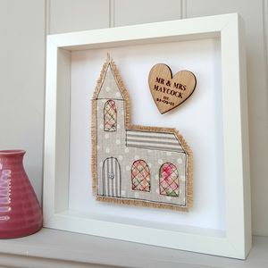 Cotton Anniversary Church Fabric Gift