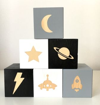 Outer Space Play Cubes