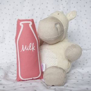 Bright Milk Bottle Soft Toy Rattle - toys & games