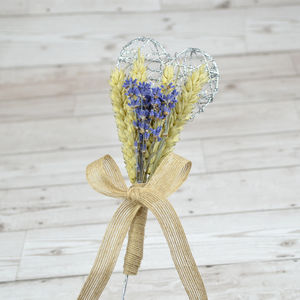 Lavender Flower Girl Wand
