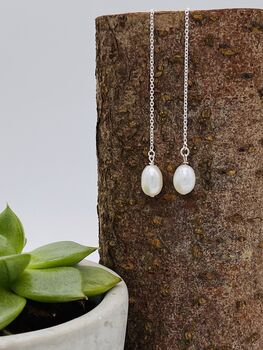 Ettie's Pearl Earrings